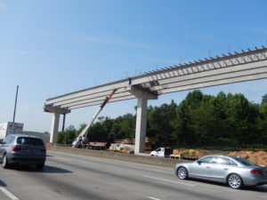 Reversible Lanes I-75 Cobb County