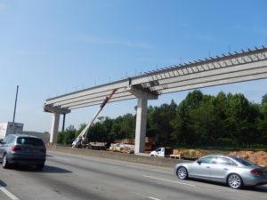 Reversible Lanes I-75 Cobb County